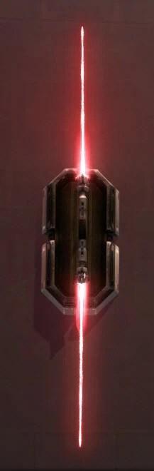 Unstable Arbiter's Dualsaber Imperial Crimson
