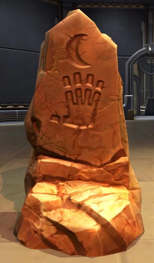 Jedi Consular Meditation Pillar