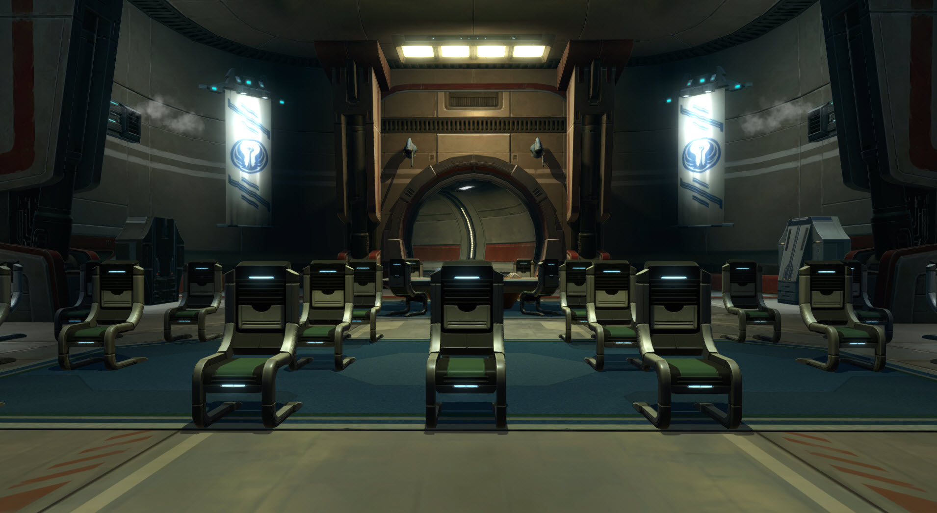 Aesthetic (Officer Deck – Briefing Room) – The Harbinger