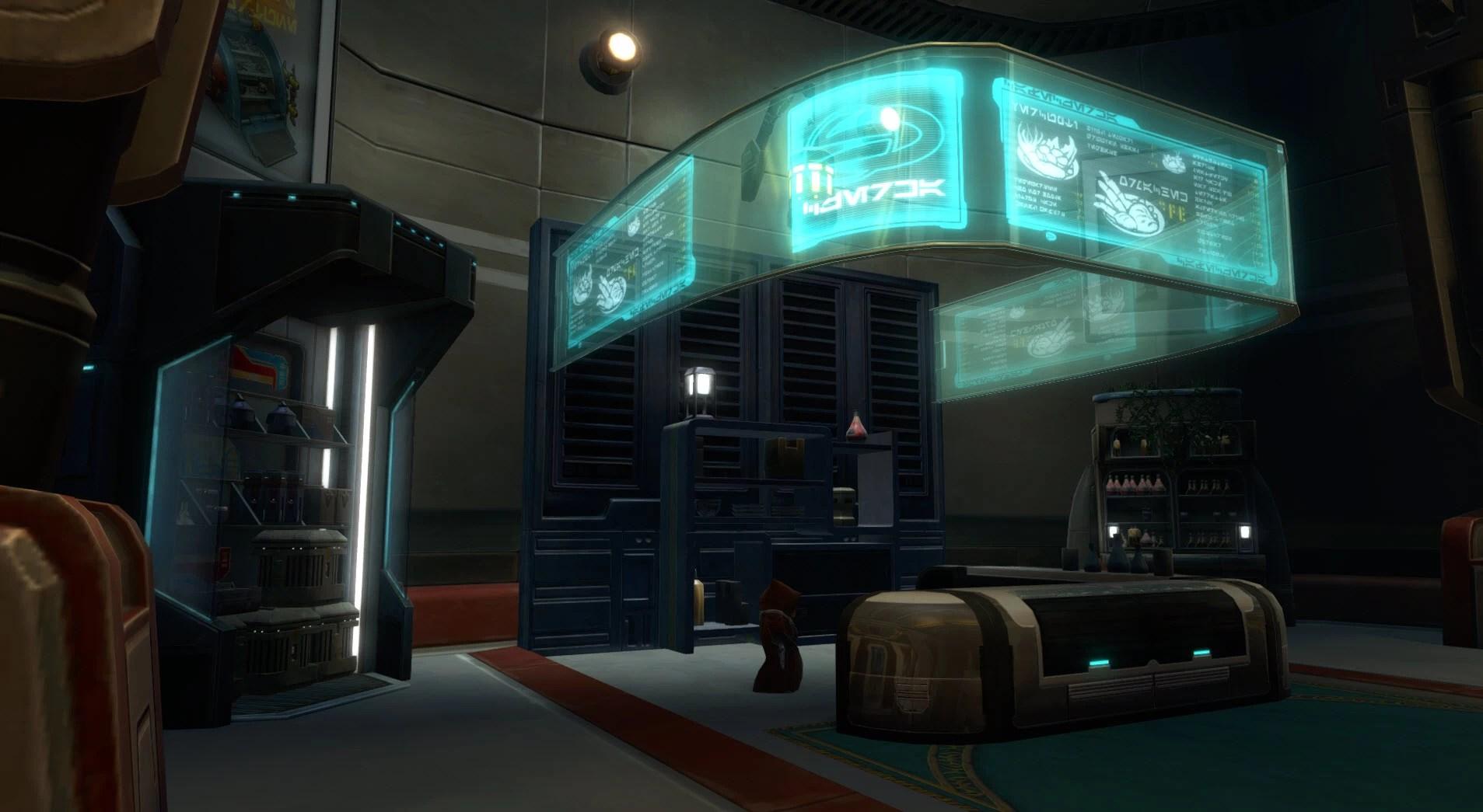 Aesthetic (Command Deck – Entry) – The Harbinger