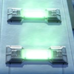 Set Light Bar: Green