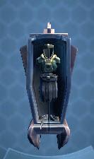 Ancient Sith Armor Rack