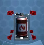 Explosive Fuel Tank