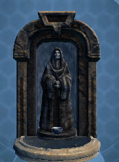 Small Jedi Knight Fountain Shrine