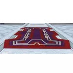 Hunters Lodge Rug (Red)