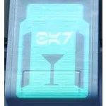 Holo Sign: Bar Drink Glass