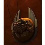 Taxidermy: Voreclaw Head (Silver Plaque)