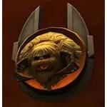 Taxidermy: Wampa Head (Silver Plaque)