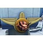 Taxidermy: Gundark Head (Gold Plaque)