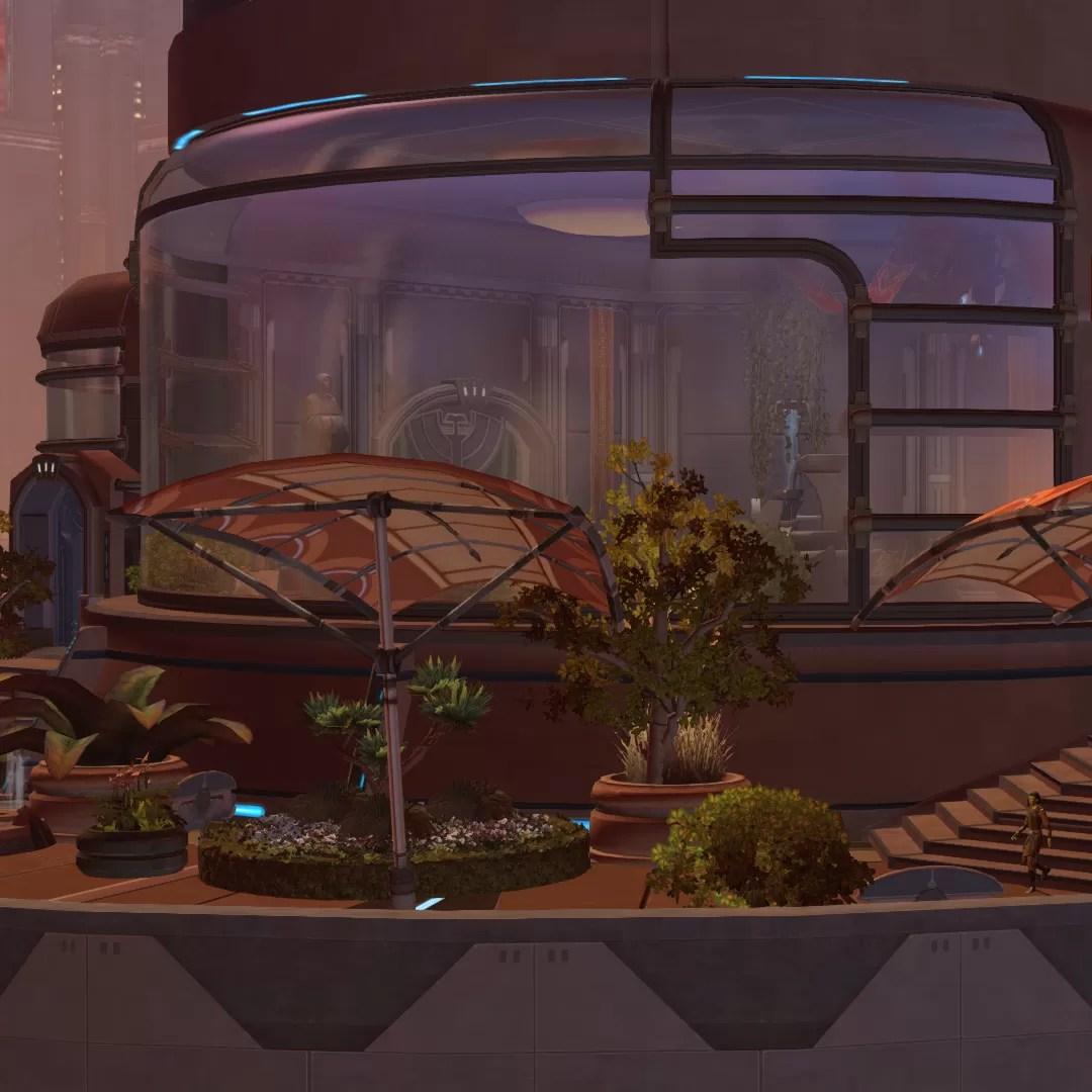 Talisin's Jedi Consular Penthouse – Star Forge