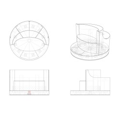 Revolving Chair Thames Office Dimensions Cm Dawn To Dusk  Tord Boontje
