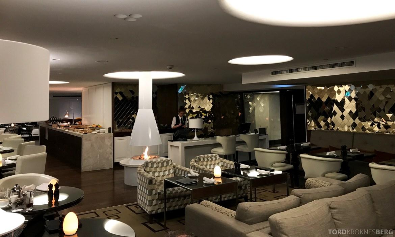 InterContinental Wellington Club Lounge oversikt