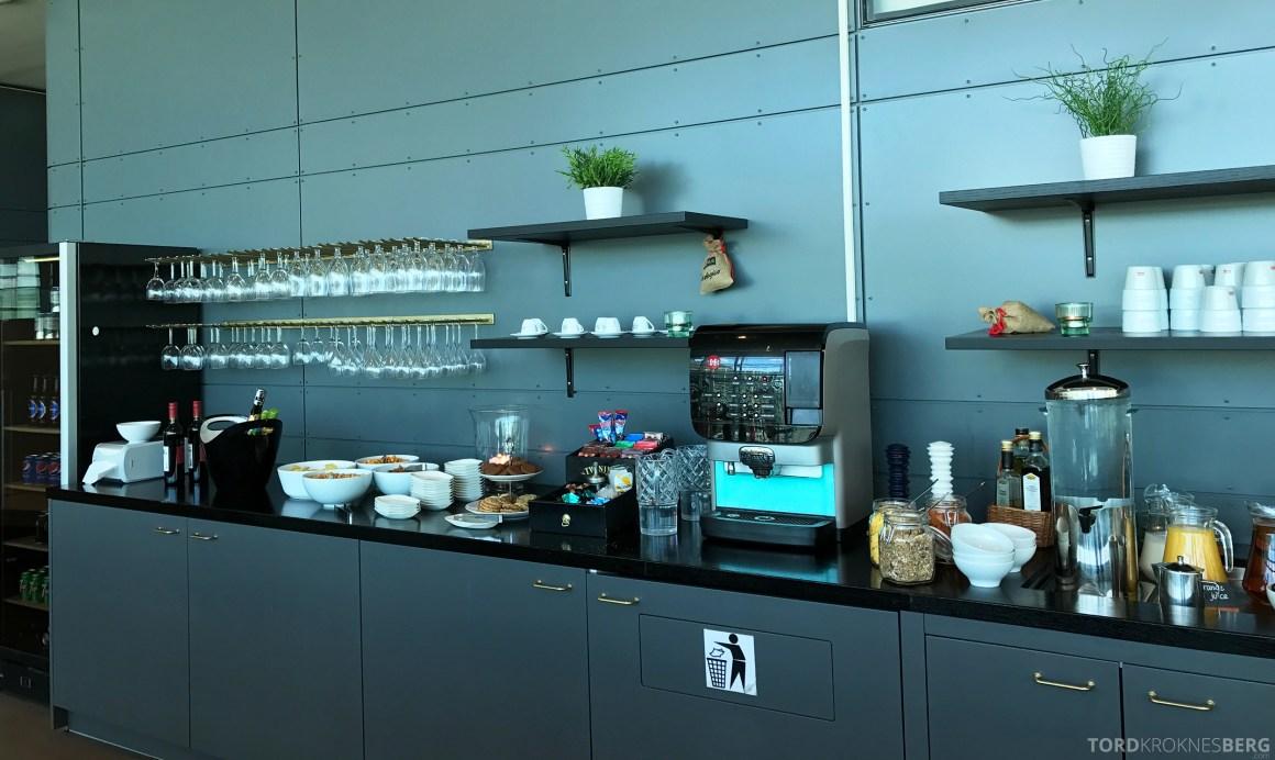 Stockholm Arlanda Lounge buffet