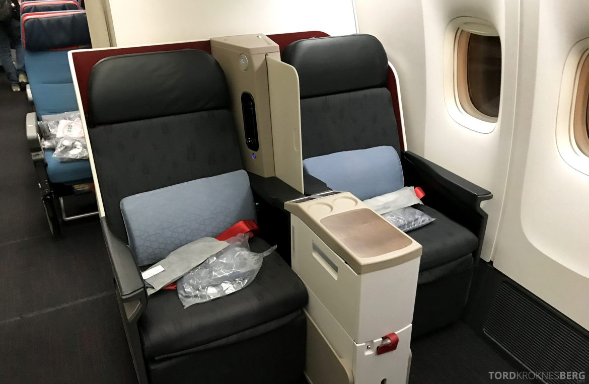 Turkish Airlines Business Class Istanbul Jakarta sete