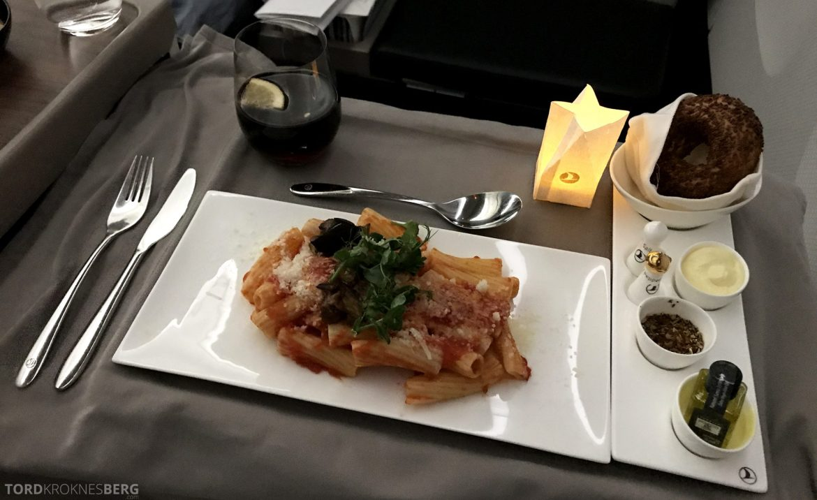 Turkish Airlines Business Class Istanbul Jakarta hovedrett