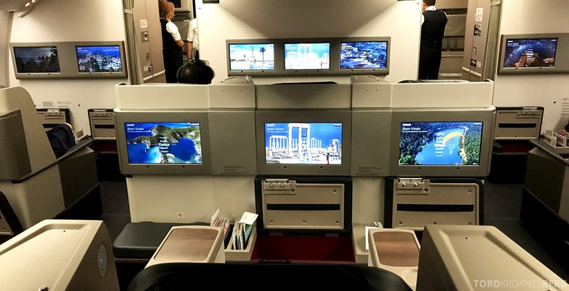 Turkish Airlines Business Class Istanbul Jakarta midtsete