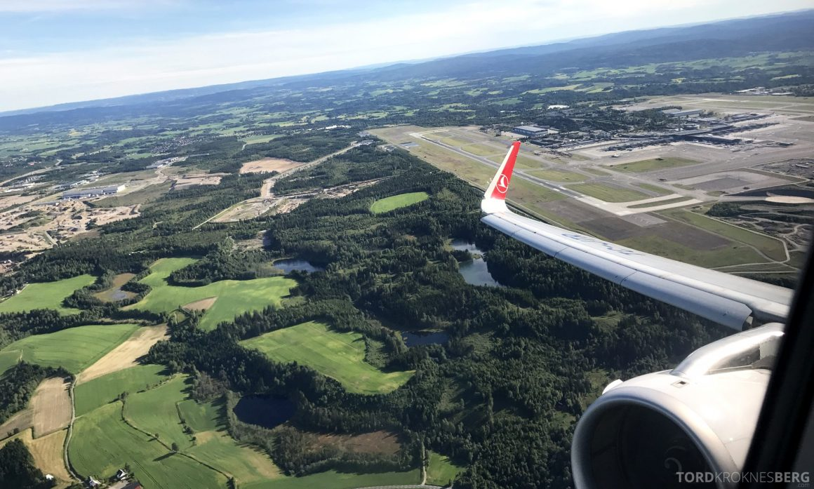 Turkish Airlines Business Class Oslo Istanbul Gardermoen