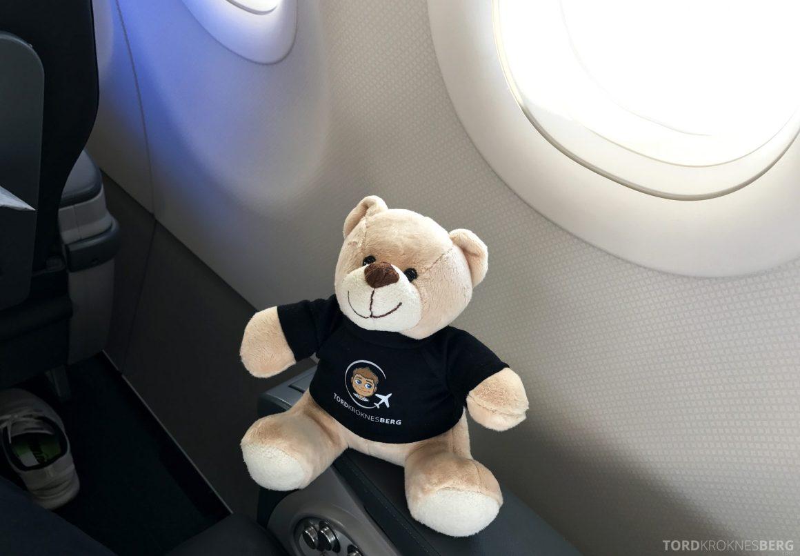 Turkish Airlines Business Class Oslo Istanbul reisefølget poserer