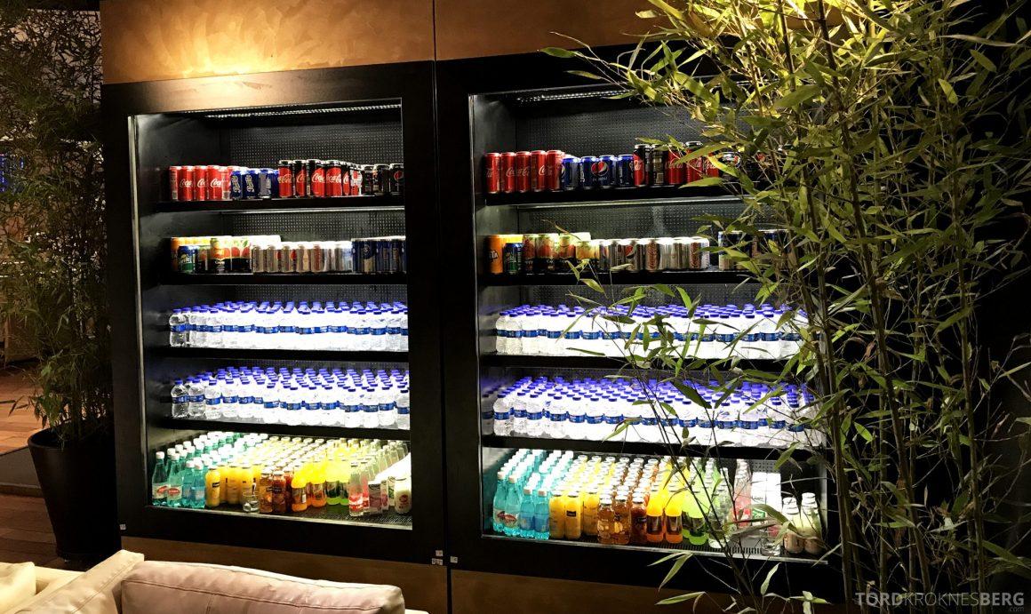 Turkish Airlines CIP Lounge Istanbul mineralvann