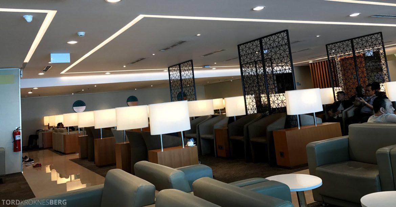 Garuda Indonesia Domestic Lounge Jakarta stoler