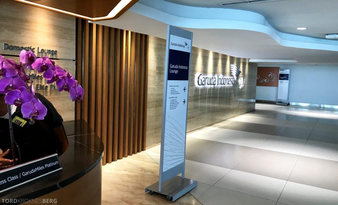 Garuda Indonesia Domestic Lounge Jakarta inngang