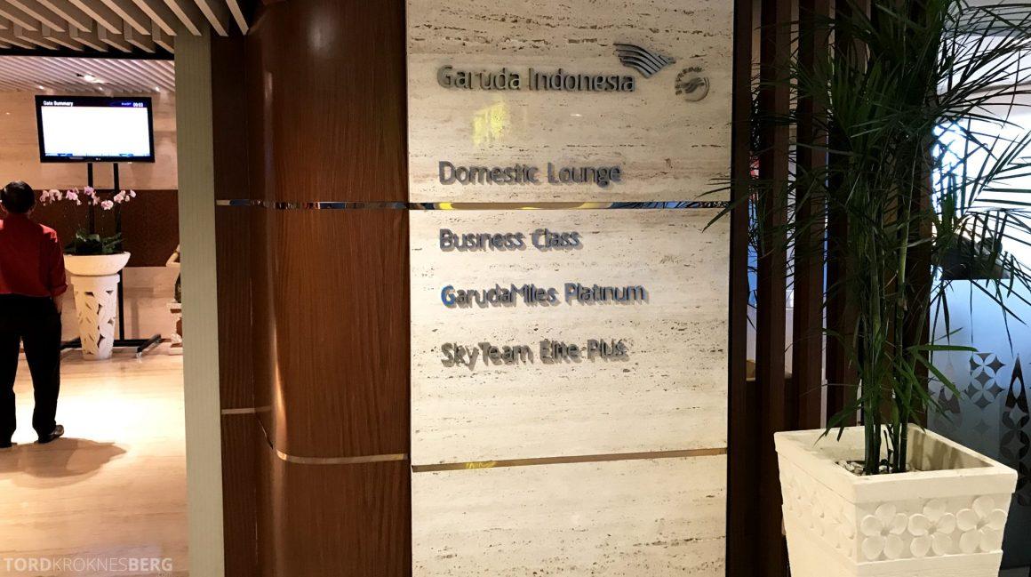 Garuda Indonesia Economy Bali Jakarta lounge