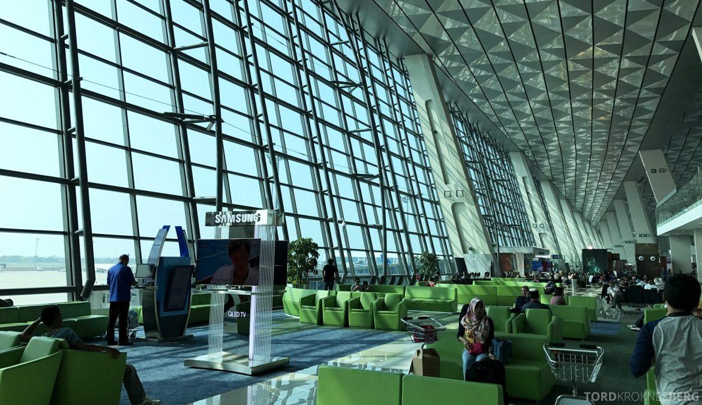 Garuda Indonesia Jakarta terminal luftig