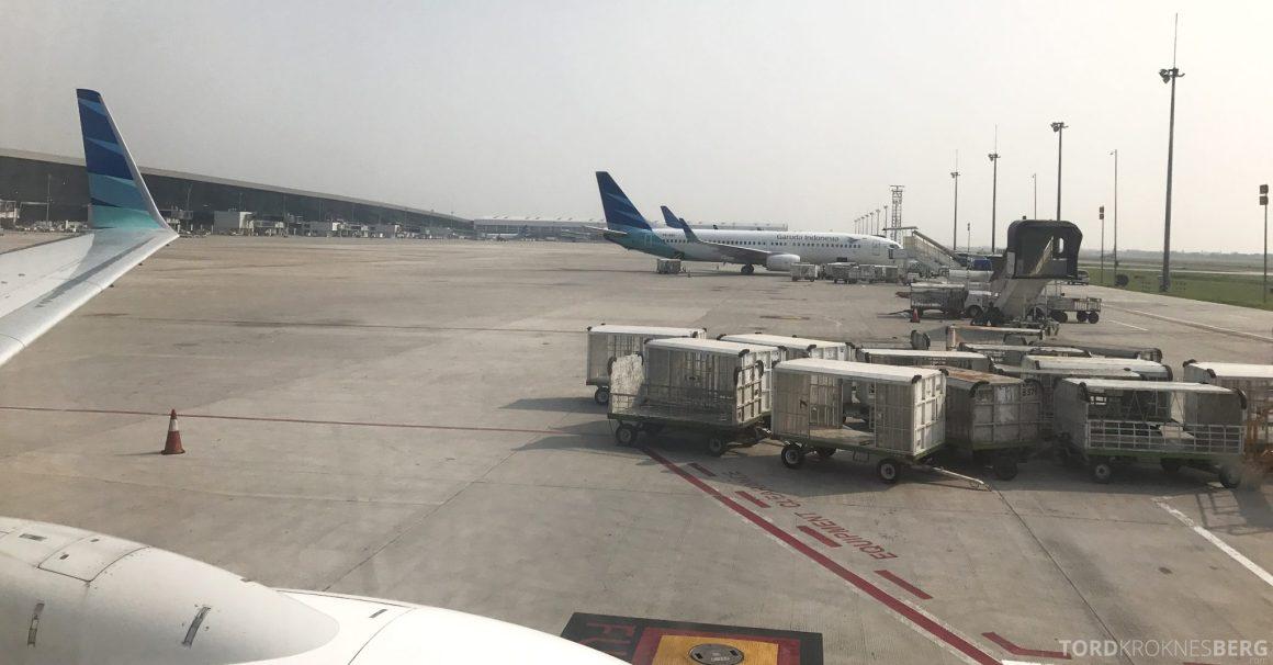 Garuda Indonesia Jakarta fly