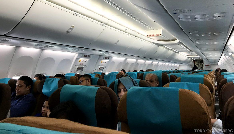 Garuda Indonesia Jakarta kabin