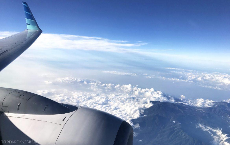 Garuda Indonesia Jakarta utsikt