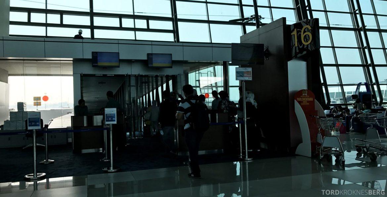 Garuda Indonesia Jakarta boarding