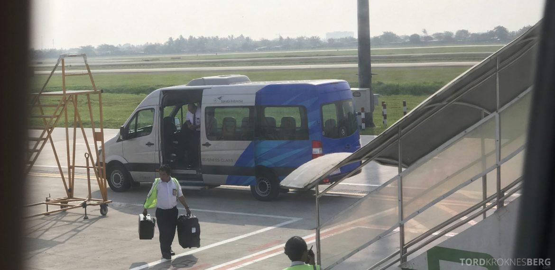 Garuda Indonesia Jakarta business class buss