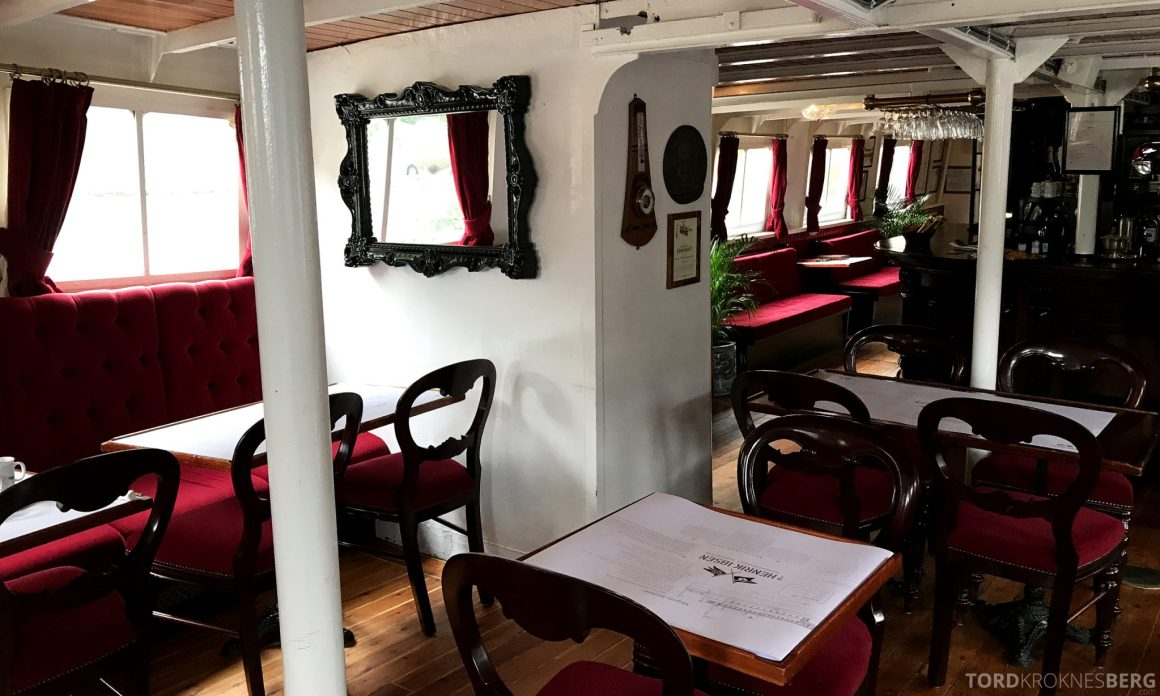 MS Henrik Ibsen Cruise Telemarkskanalen interiør