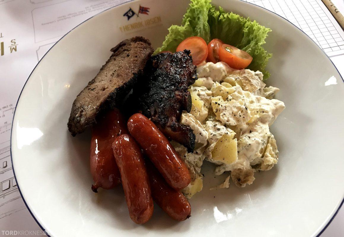 MS Henrik Ibsen Cruise Telemarkskanalen lunch