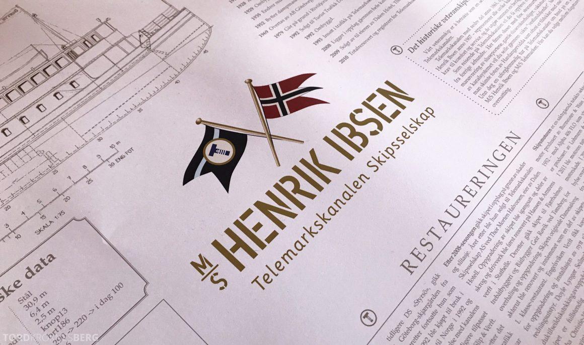 MS Henrik Ibsen Cruise Telemarkskanalen informasjon