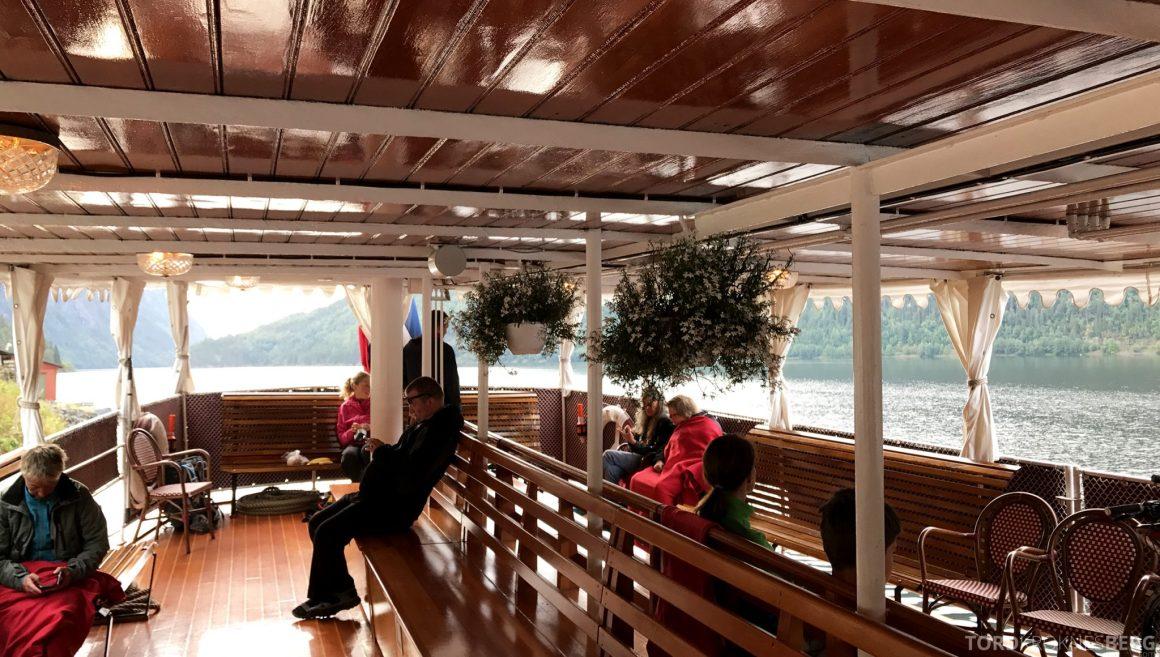 MS Henrik Ibsen Cruise Telemarkskanalen sitteplasser ute