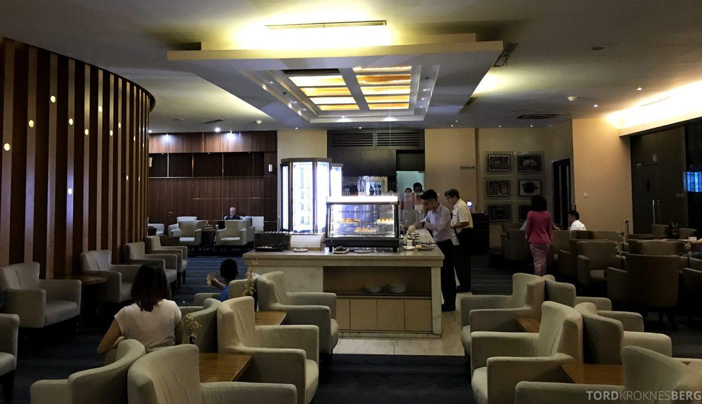 Premier Lounge Jakarta buffet