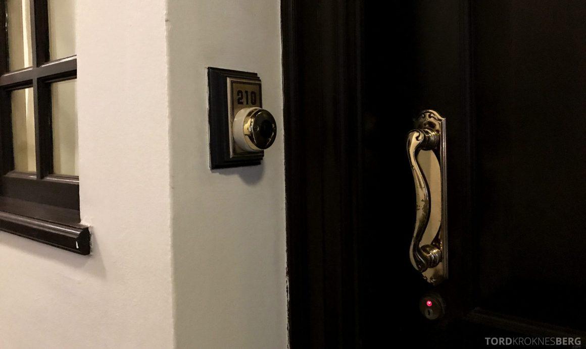 Raffles Hotel Singapore dør
