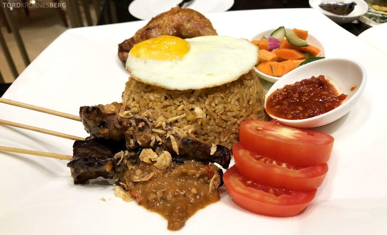 Restaurant Asia Ritz-Carlton Jakarta nasi goreng
