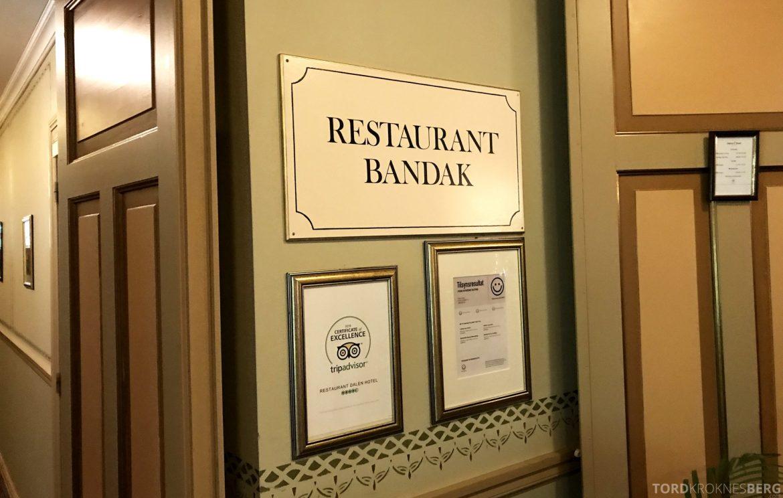 Restaurant Bandak Dalen inngang