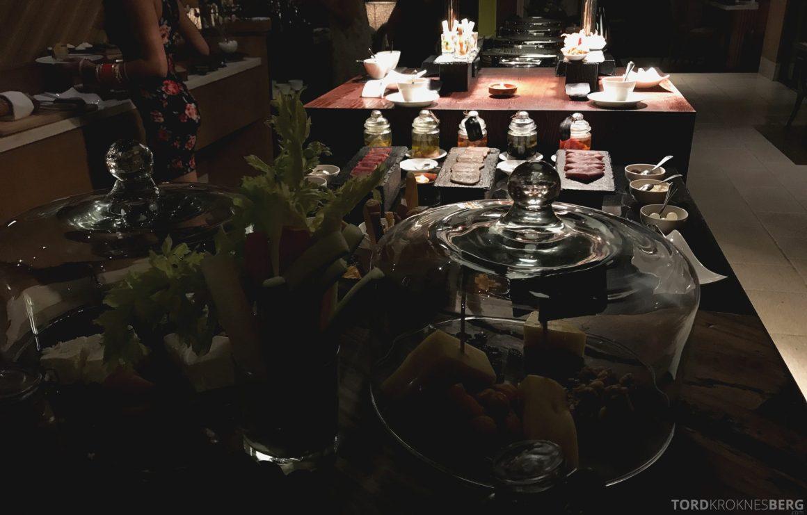 Ritz-Carlton Bali Club Lounge hors d'oeuvre
