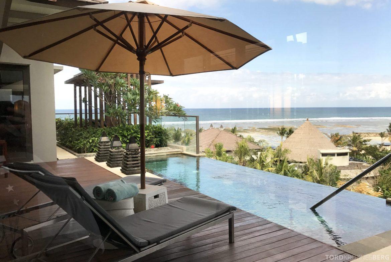 Ritz-Carlton Bali Suites sky villa balkong