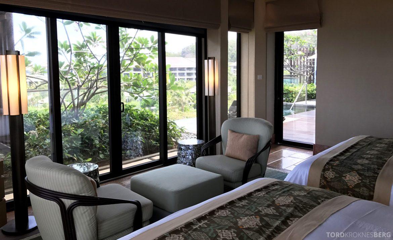 Ritz-Carlton Bali Cliff Villa privat rom