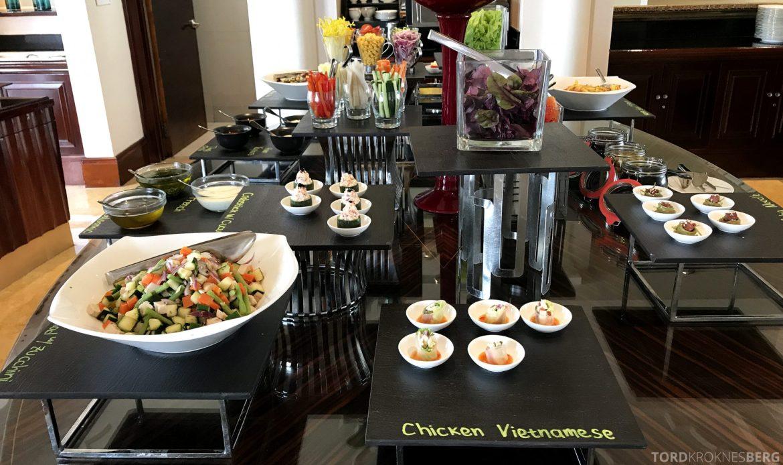 Ritz-Carlton Jakarta Club Lounge lunchbuffet