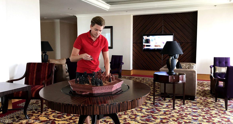 Ritz-Carlton Jakarta Club Lounge sjakk
