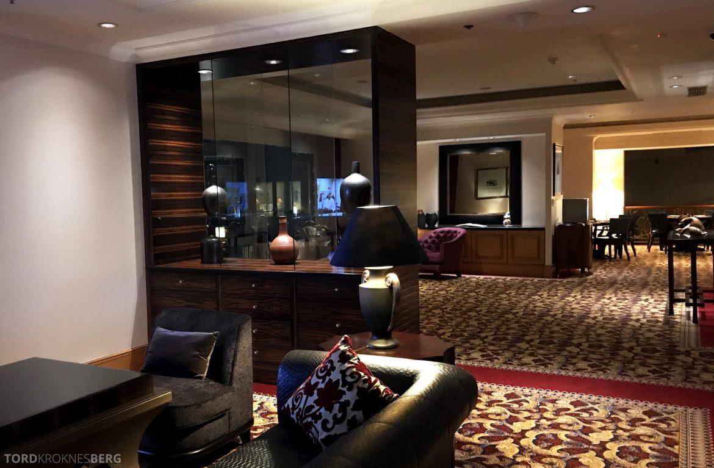 Ritz-Carlton Jakarta Club Lounge stemning