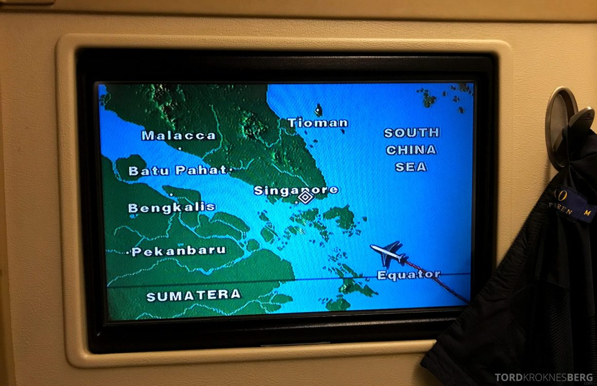 Singapore Airlines Business Class Wellington Canberra Changi landing