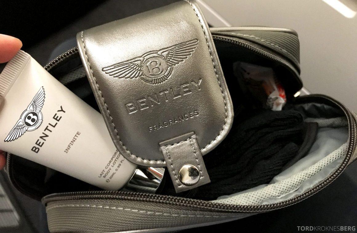 Turkish Airlines Business Class Jakarta Istanbul amenity kit