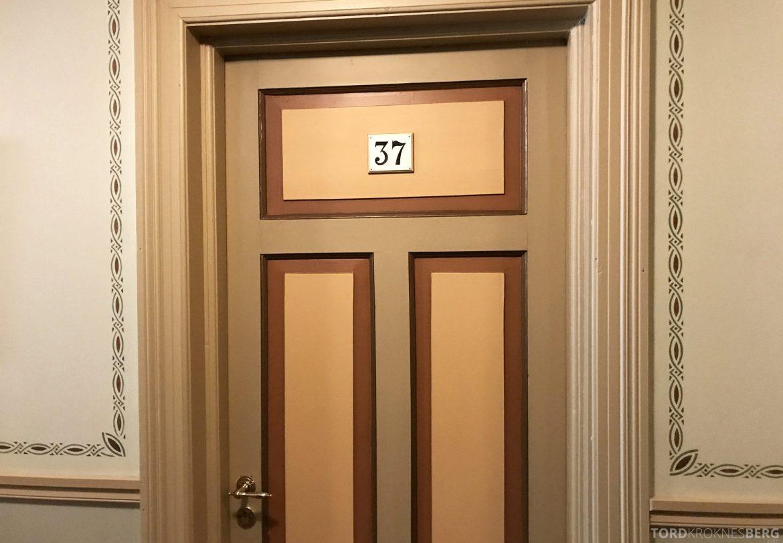 Dalen Hotel Telemark dør til rommet