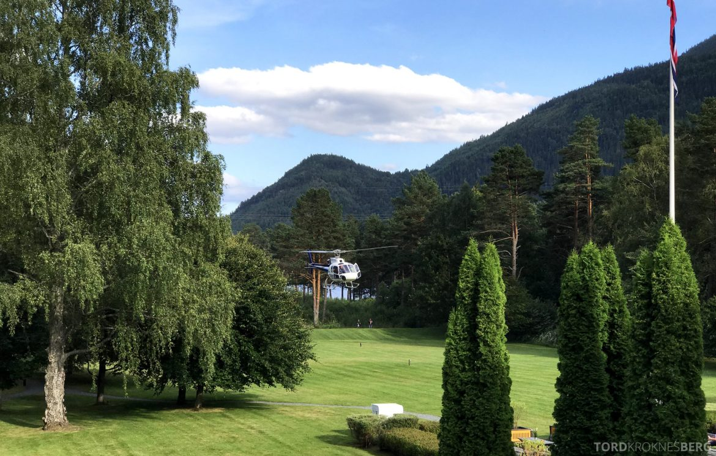 Dalen Hotel Telemark helikopter